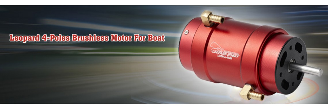 Leopard 4-poles brushless motor for boat