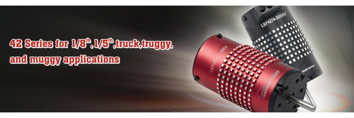Leopard brushless motor 42-series for truck truggy muggy buggy