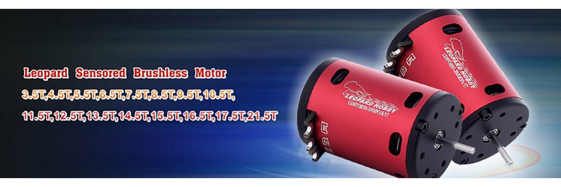Leopard sensored brushless motor